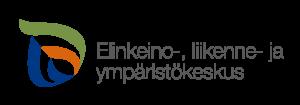 Elinkeino-, liikenne- ja ympäristökeskus -logo.