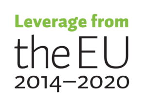 Leverage from the EU -logotype
